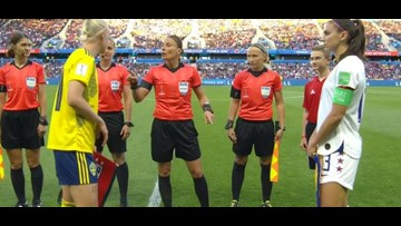 U.S. women win Group F by beating Sweden