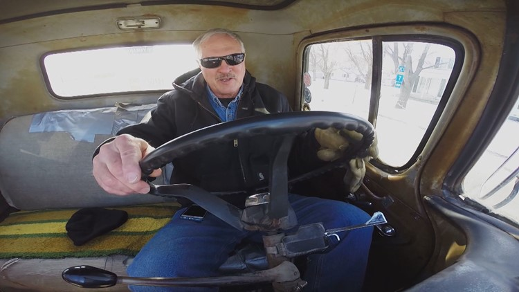 Man drives $75 pickup to work for 38 years