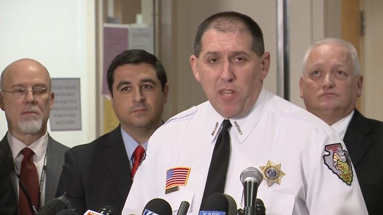 Barron County Sheriff Chris Fitzgerald updates Jayme Closs case.