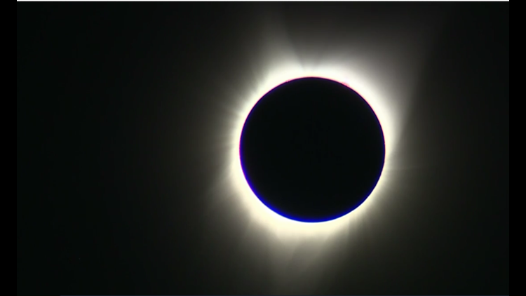 California-based telescope manufacturer Celestron posted video of the total solar Eclipse across the U.S.
