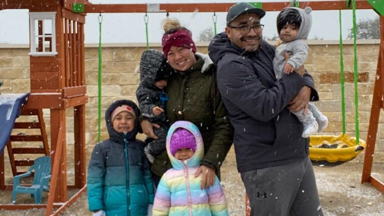 Texas family's snow-survival story goes viral on TikTok