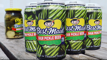 New beer flavor becomes 'big dill' in the Lone Star State