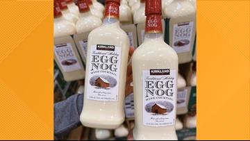 Costco selling Egg Nog Wine Cocktail