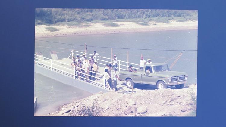 Historical 1970s photo of El Chalan