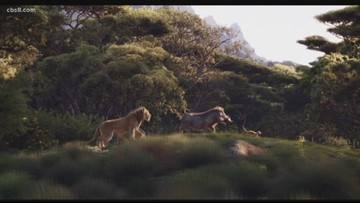 Get a behind the scenes look at The Lion King which hits theaters on Friday