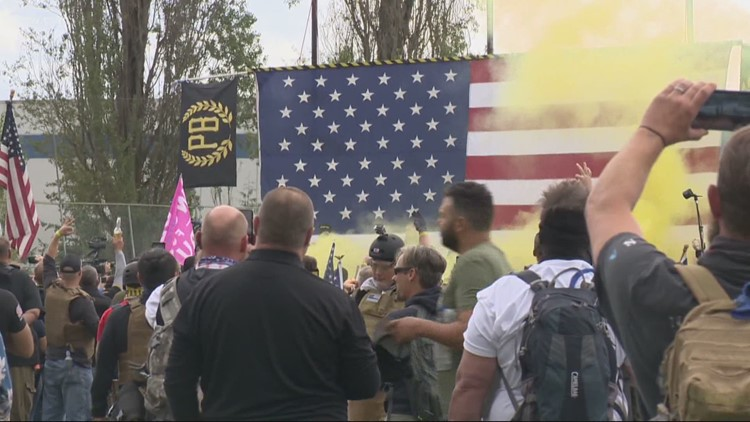 Proud Boys get international exposure.  So who are they?