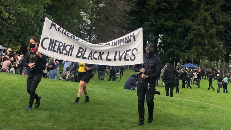 Proud Boys rally assault being investigated, anti-fascist rally ends in Peninsula Park