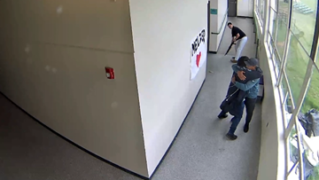 Watch: Powerful video shows Portland man hugging Parkrose student moments after disarming him