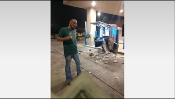 Texas couple protects $250,000 in cash after witnessing ATM smash-and-grab