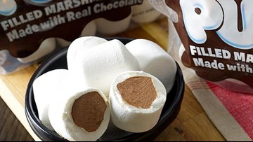 Chocolate-stuffed marshmallows are on the way just in time for your summer s'mores