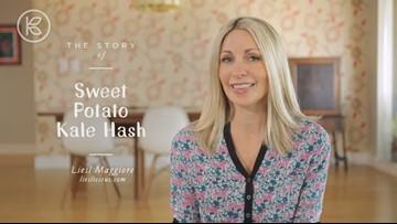 Liesl's Sweet Potato & Kale Hash