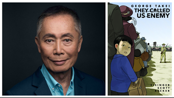 George Takei's new memoir illustrates his childhood spent in American Internment Camps