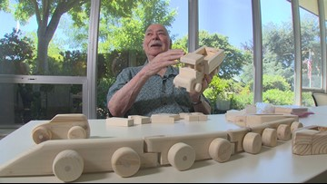 Senior citizen gives back by building blocks for children in need - Home Team Heroes