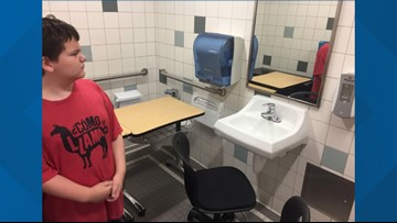 Family to sue after school puts autistic student's desk over toilet