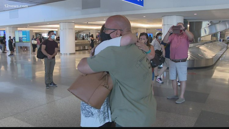Arizona Marine veteran meets the daughter he never knew existed