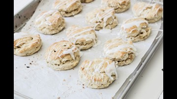 Recipe of the Day: Apple + Ginger Scones