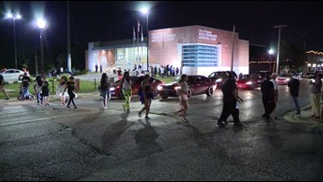 Several protestors arrested for blocking street at Ferguson Police Department on Friday