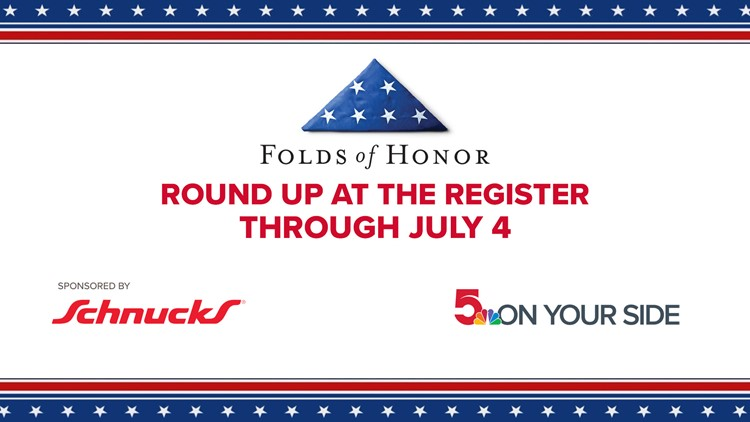 Donate to Folds of Honor and help educate families of wounded or killed service members