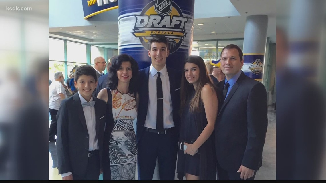 Getting to know Jordan Kyrou, St. Louis' newest hockey sensation