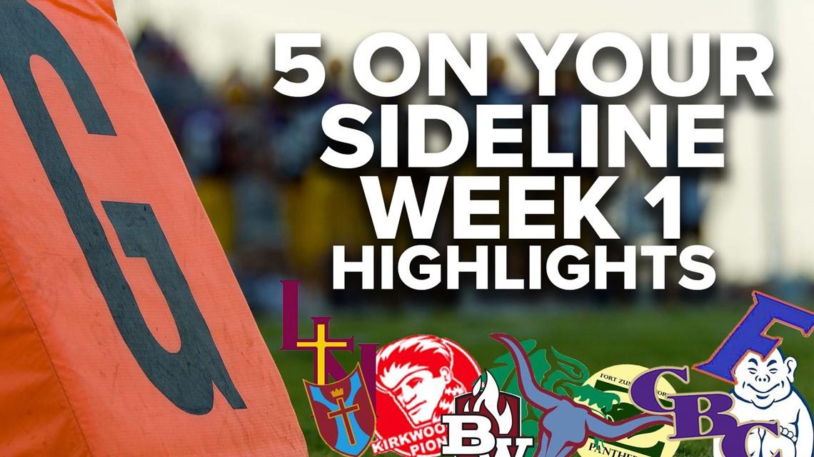 5 On Your Sideline high school football highlights: Week 1