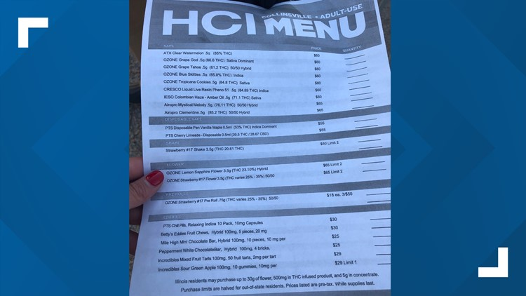 Menu at HCI Alternatives