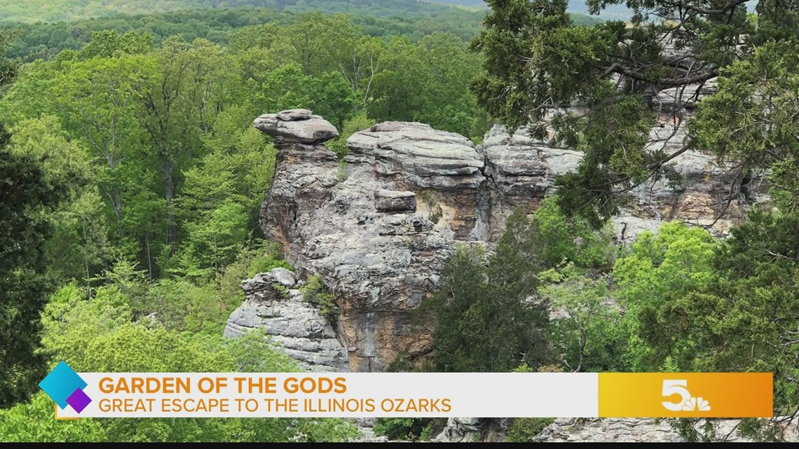 Take In A Hike The Sights And The Sunset At Garden Of The Gods In The Illinois Ozarks Ksdk Com