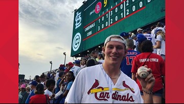 Ian, the Cubs jersey and Wrigley: Proof there's always more to the story