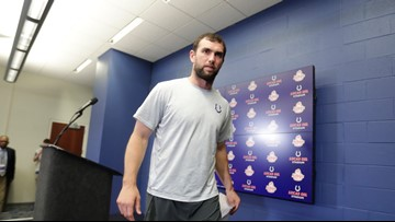 Cheers to Andrew Luck for making the hard choice, choosing peace of mind over a game