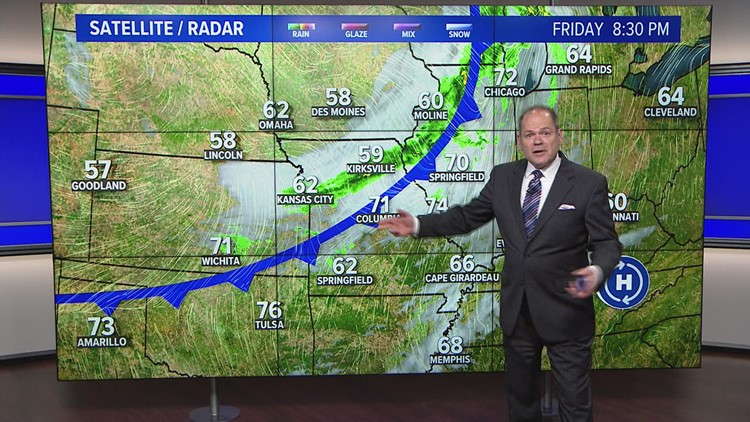 5 On Your Side weather forecast