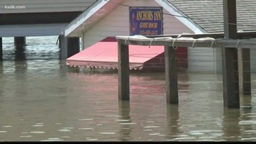 Grafton mayor optimistic floodwater will disappear and town will be cleaned up by 4th of July