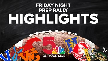 Friday Night Prep Rally: Week 2 Highlights