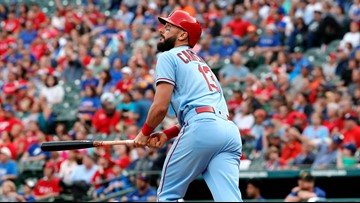 Cardinals end 3-game losing streak with 8-2 win over Texas