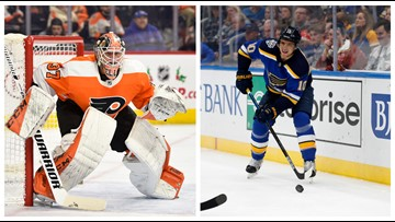Blues vs. Flyers will reunite former teammates on both sides