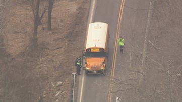 School bus crashes into utility pole in Jefferson County