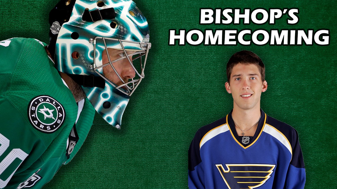 Ben Bishop set to face off against hometown Blues in second round