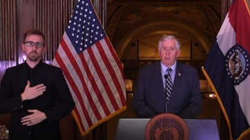 'It's going to come down to individual responsibilities' | Missouri Gov. Parson has no plans to implement statewide stay-at-home order