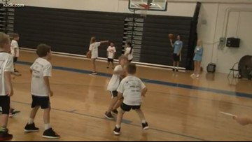 Summer basketball camps underway | Bobby McCormack's camp at Saint Louis Priory School