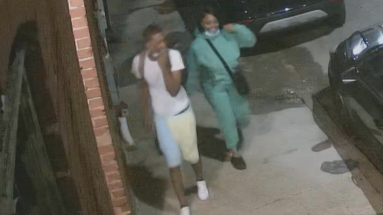 New video shows pair wanted in deadly shooting of man who interrupted car break-ins