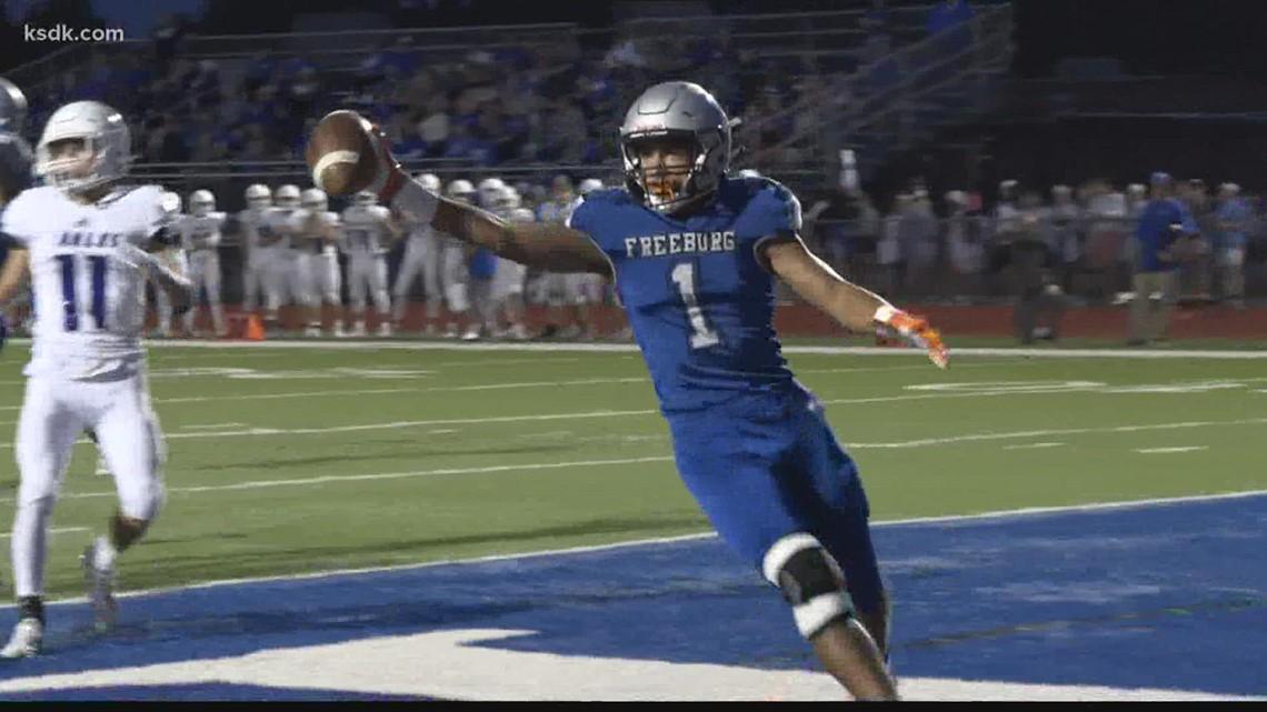 Freeburg gets close homecoming win over Columbia