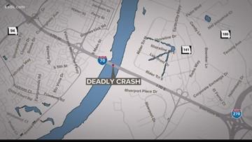 Deadly crash on Blanchette Bridge