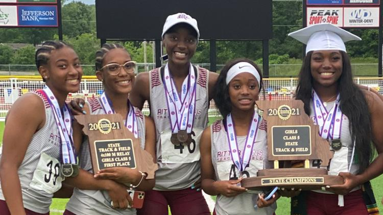 Cardinal Ritter Lady Lions capture first-ever state title in track