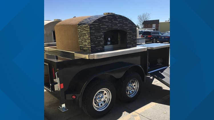 'Thank you all so much' | Pizza trailer stolen from closed restaurant found undamaged