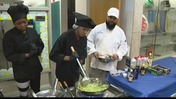 East St. Louis High School highlights students' achievements at open house