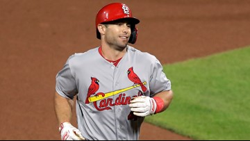 Goldschmidt's grand slam in 10th lifts Cards by Pirates 6-5