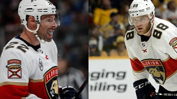 Blues bring veteran forwards Brouwer, McGinn in on professional tryouts