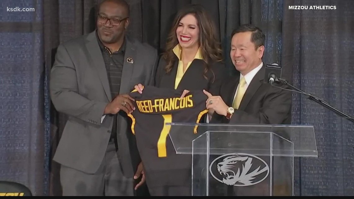Mizzou introduces Desiree Reed-Francois as new director of athletics