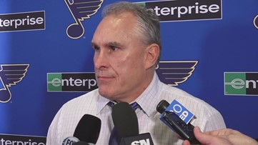 Coach Berube talks after Blues beat Oilers for 6th straight win