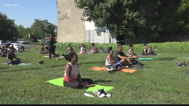 Some turn to yoga and meditation for a sense of normalcy amid pandemic