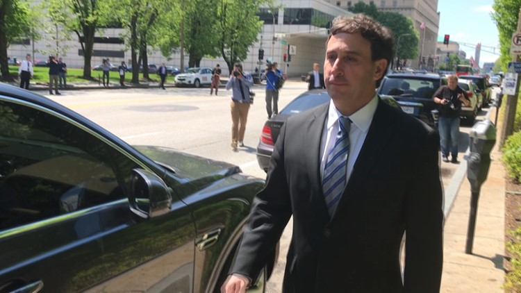 Former St. Louis County Executive Steve Stenger pleads guilty to federal corruption charges