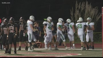 Marquette 41, Parkway Central 0